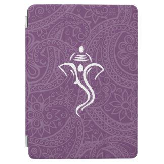 Caja púrpura del aire del iPad de Ganesh Cover De iPad Air
