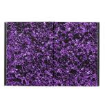 Caja púrpura del aire del iPad del brillo