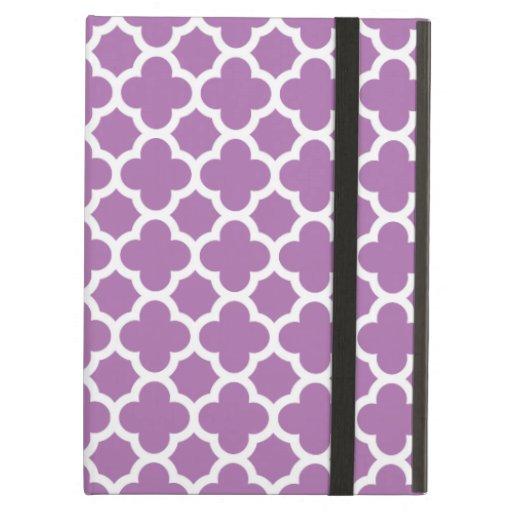 Caja púrpura del aire del iPad del modelo del