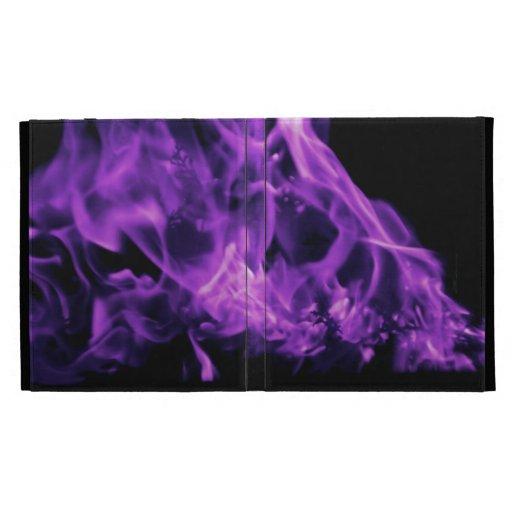 Caja púrpura del fuego