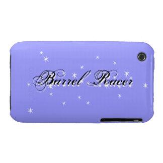 Caja púrpura del iPhone 3 del corredor del barril iPhone 3 Fundas