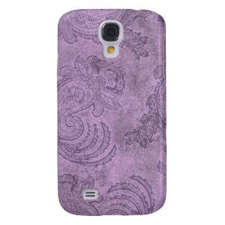 Caja púrpura del iPhone 3G de Paisley