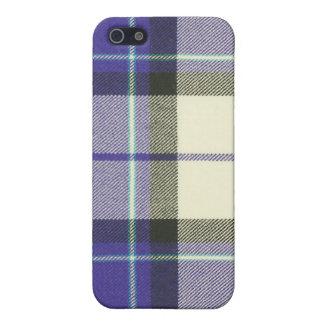 Caja púrpura del iPhone 4/4S SPECK® del tartán de  iPhone 5 Cárcasa