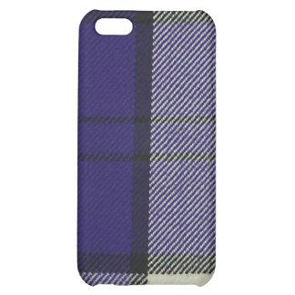 Caja púrpura del iPhone 4/4S SPECK® del tartán del