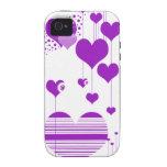 caja púrpura del iphone 4 de la estrella vibe iPhone 4 carcasa