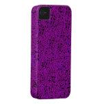Caja púrpura del iphone 4 del brillo apenas iPhone 4 Case-Mate protector