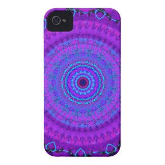 Caja púrpura del iPhone 4 del caleidoscopio de la iPhone 4 Carcasa
