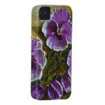 Caja púrpura del iPhone 4 del pensamiento Case-Mate iPhone 4 Carcasa