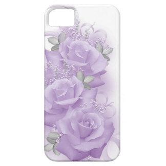 Caja púrpura del iPhone 5 de los rosas iPhone 5 Carcasa