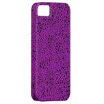 Caja púrpura del iphone 5 del brillo apenas iPhone 5 cobertura