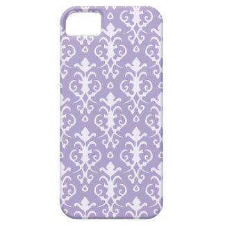 Caja púrpura del iPhone 5 del damasco iPhone 5 Case-Mate Cobertura