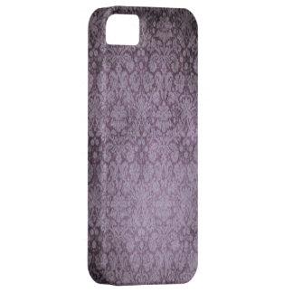 Caja púrpura del iPhone 5 del damasco iPhone 5 Carcasas