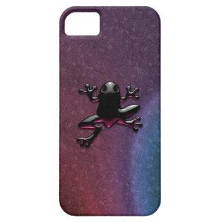 Caja púrpura del iPhone 5 del Froggy iPhone 5 Case-Mate Cobertura