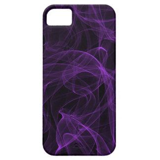 Caja púrpura del iPhone 5 del humo iPhone SE/5/5s Case