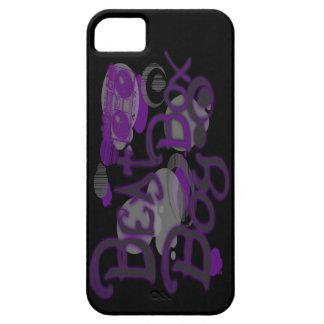 Caja púrpura del iPhone 5 del muchacho de la caja iPhone 5 Fundas
