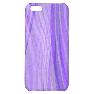 Caja púrpura del iPhone 5C de Wavee