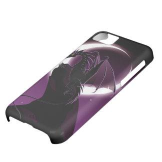 Caja púrpura del iPhone 5C del dragón Funda Para iPhone 5C