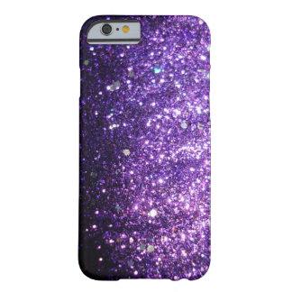 Caja púrpura del iPhone 6 de la cubierta de Bling Funda De iPhone 6 Slim