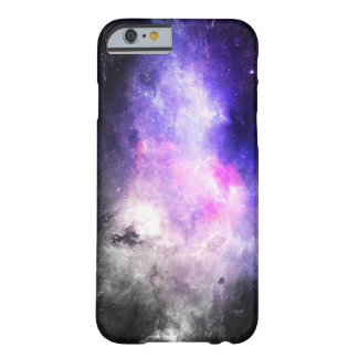 Caja púrpura del iPhone 6 de la galaxia Funda De iPhone 6 Barely There