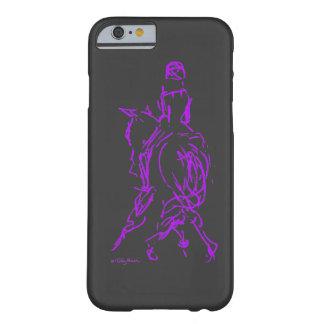 Caja púrpura del iPhone 6 del medio paso Funda Para iPhone 6 Barely There