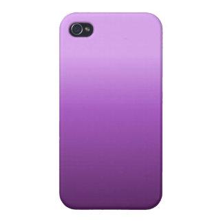 Caja púrpura del iPhone de Ombre iPhone 4 Funda
