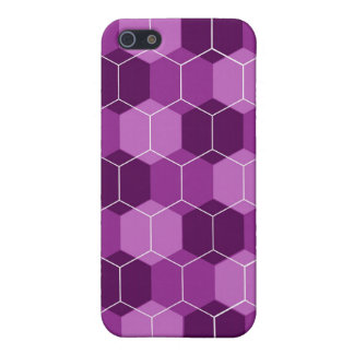 Caja (púrpura) del iPhone del avispero iPhone 5 Cárcasas