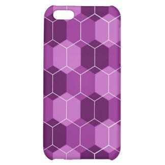 Caja (púrpura) del iPhone del avispero