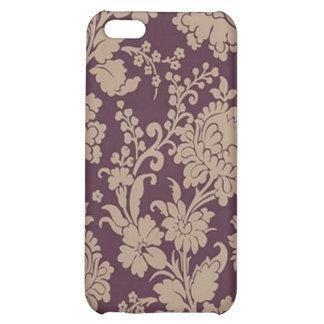 Caja púrpura del iPhone del modelo