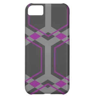Caja (púrpura) del iPhone S de Panal