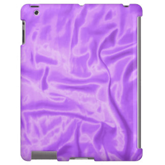 Caja púrpura del Satén-iPad