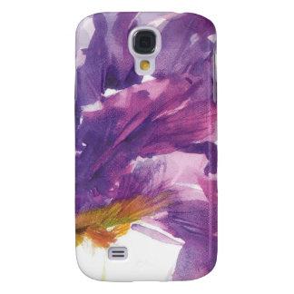 Caja púrpura del teléfono del iris samsung galaxy s4 cover