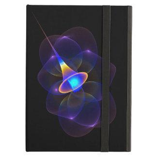 Caja púrpura enrrollada del iPad del cometa