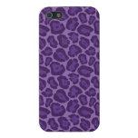 Caja púrpura femenina de Iphone 5 del modelo del l iPhone 5 Cárcasas