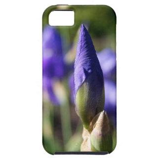 Caja púrpura floral de IPhone 5 de la foto del Funda Para iPhone SE/5/5s