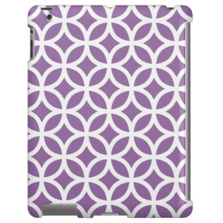 Caja púrpura geométrica del iPad 2 3 4