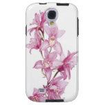 Caja púrpura hermosa y elegante de la orquídea S4