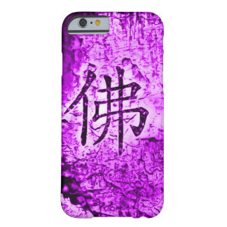 Caja púrpura interna china del arte del Grunge del Funda Para iPhone 6 Barely There