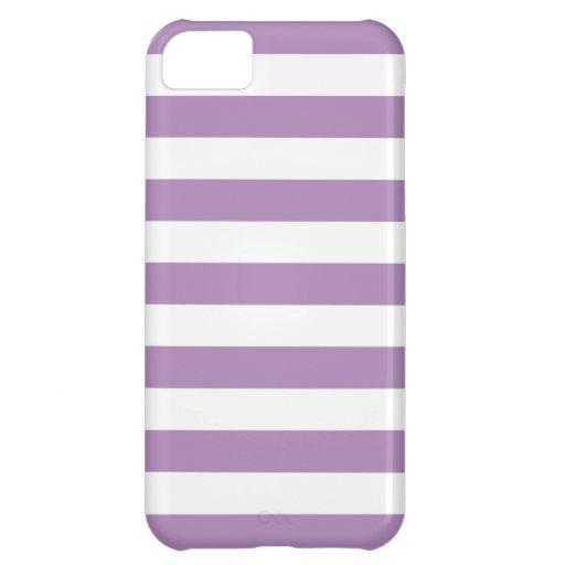 Caja púrpura intrépida del iPhone 5 de la violeta