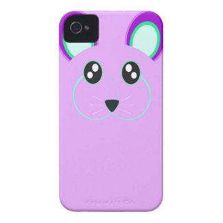 Caja púrpura linda del iPhone 4/4S del conejo Case-Mate iPhone 4 Carcasa