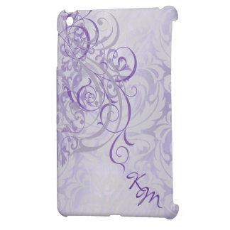 Caja púrpura rococó de Ipad del vintage mini iPad Mini Coberturas