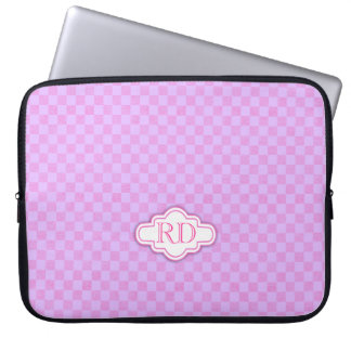 Caja púrpura rosa clara del ordenador portátil del mangas portátiles