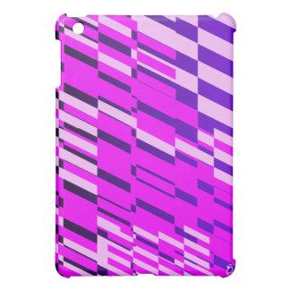 Caja púrpura rosada del iPad del fragmento