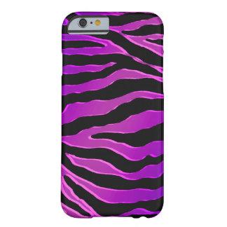 Caja púrpura rosada eléctrica del iPhone 6 de la Funda De iPhone 6 Barely There