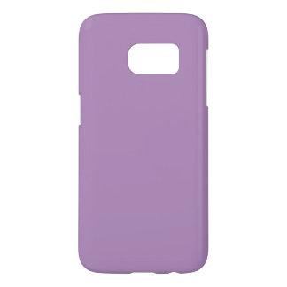 Caja púrpura sólida de la galaxia S7 Fundas Samsung Galaxy S7