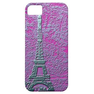 Caja púrpura y de plata del teléfono celular de la iPhone 5 fundas