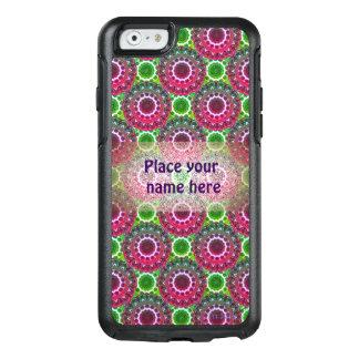 Caja púrpura y verde del teléfono del rosetón funda otterbox para iPhone 6/6s