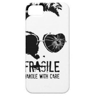 Caja quebrada del teléfono de los vidrios iPhone 5 funda