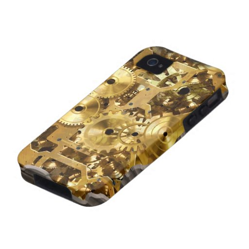 Caja radical de la casamata de Steampunk 9 iPhone 4/4S Carcasa