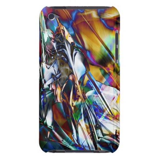 Caja radical de la mota del arte 26 iPod touch Case-Mate coberturas