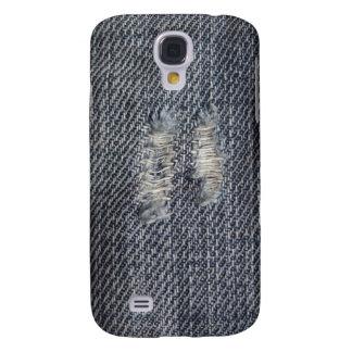 Caja rasgada del iphone del dril de algodón funda samsung s4